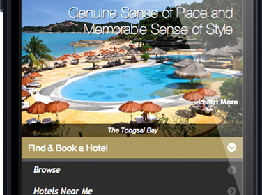 Preferred Hotel GroupMobile Site Build